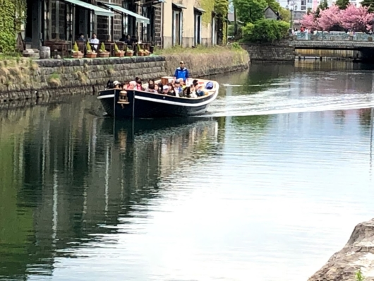 小樽運河船
